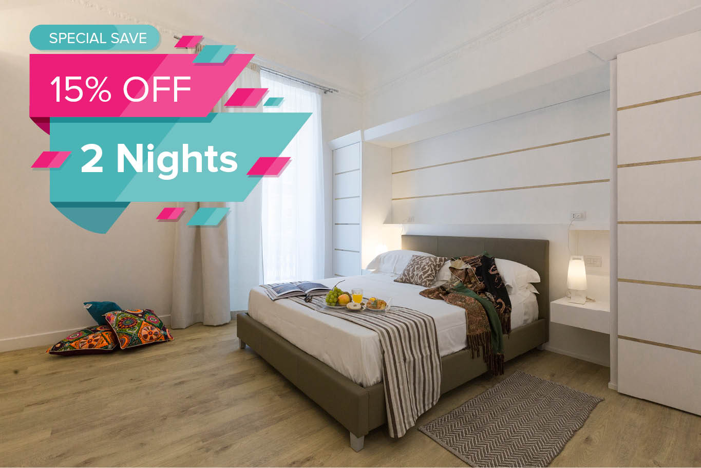 promo 2 nights palermo in suite
